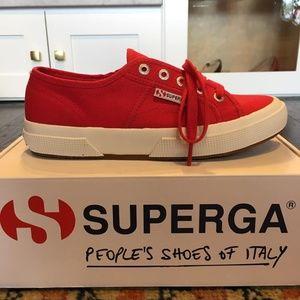 Unisex SUPERGA Red COTU Classic Sneaker